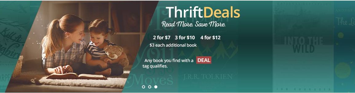 Coupon Code For Thrift Books